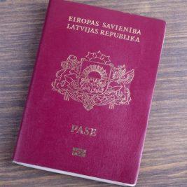 Latvian passport