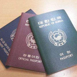South Korea Passports