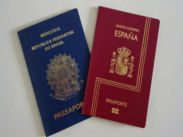 Spanish passaporte