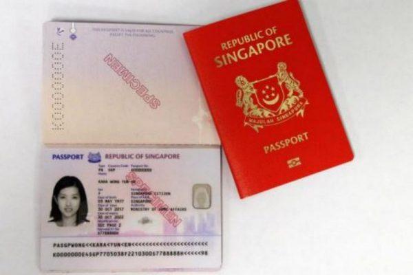 singaporean passport