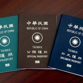 taiwanese passports
