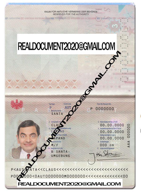 Buy Austrian Passport