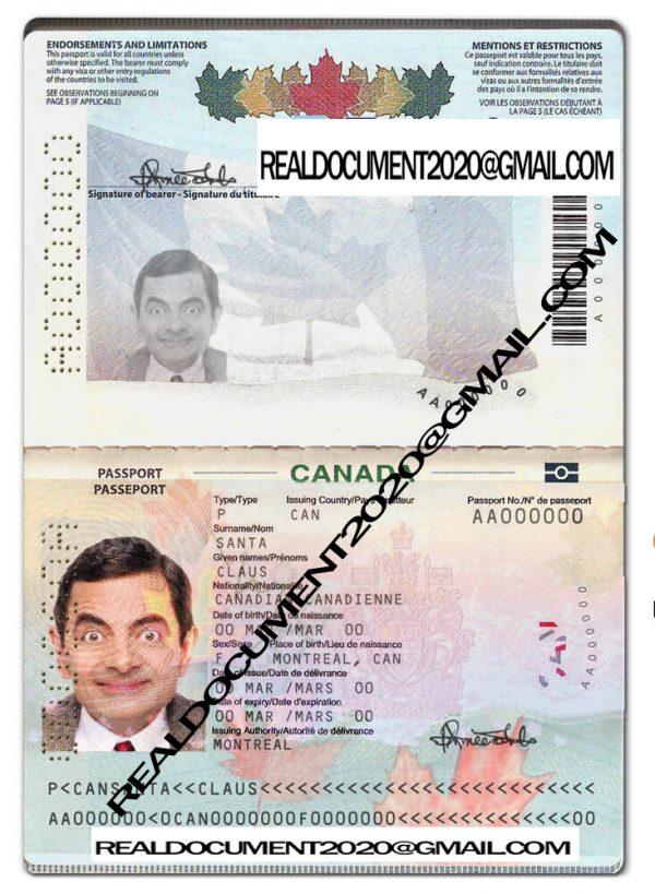 Buy Canadian Passport