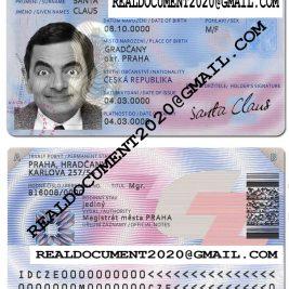 Fake Czech ID Card