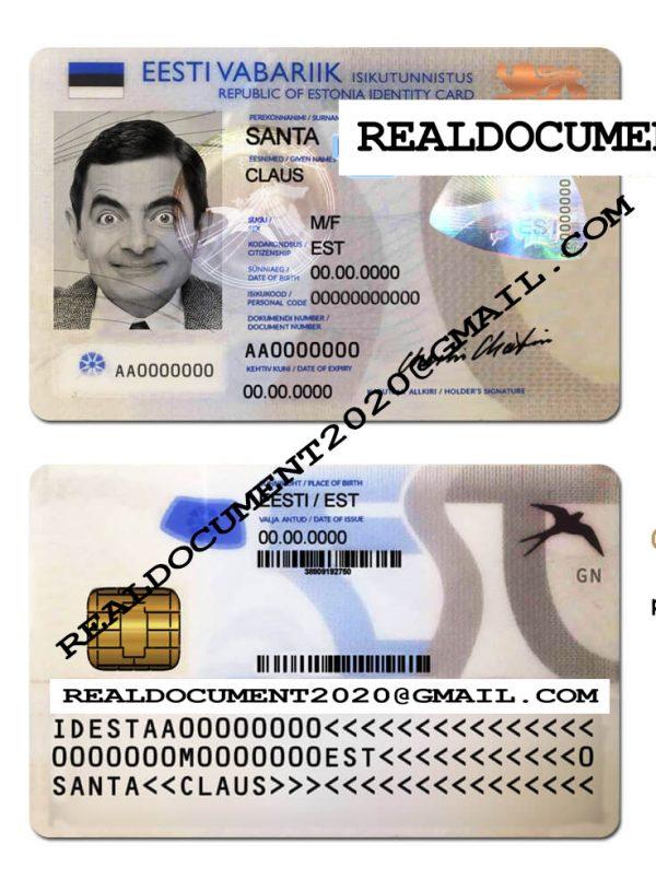 Estonia ID v1