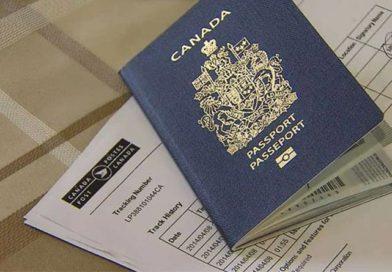 Fake Canadian Passport