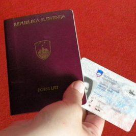 Fake Slovenian ID Card