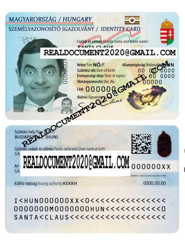 Fake Hungarian ID