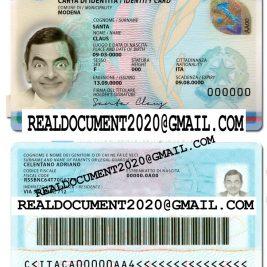 Fake Italian ID Card
