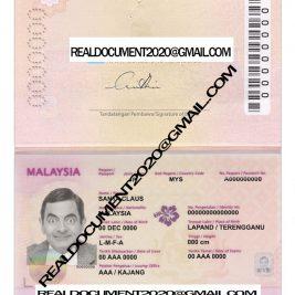 Buy Malaysian Passport