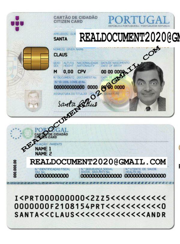 Fake Portugal ID Card
