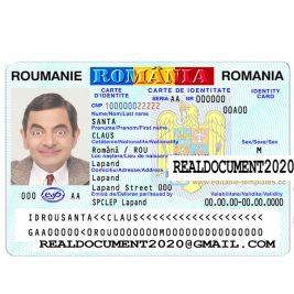 Fake Romanian ID Card