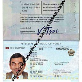 Buy South Korea Passport