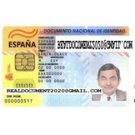 Buy Fake Spanish ID Card