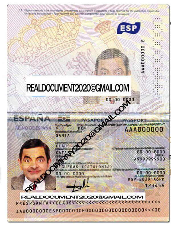 Buy Spanish New Version Passport