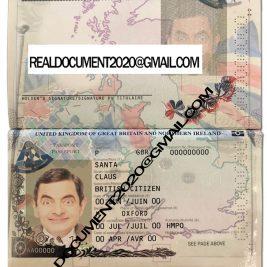 Buy UK Passport new version