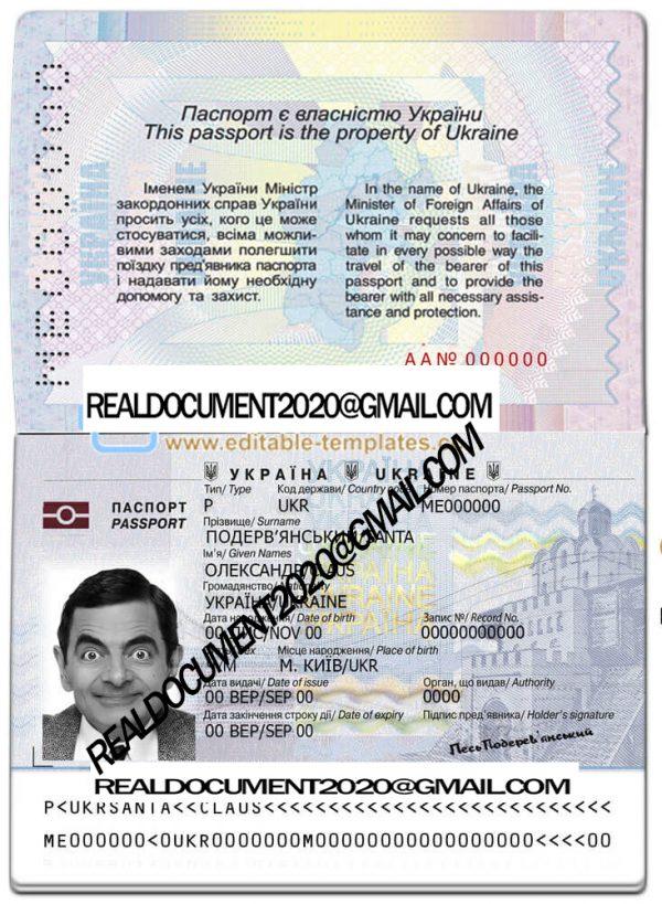 Buy Ukraine Passport
