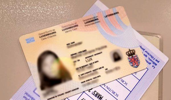 buy fake Luxemburg ID Card