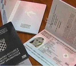 fake Croatian Passport