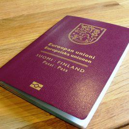 fake Finnish passport