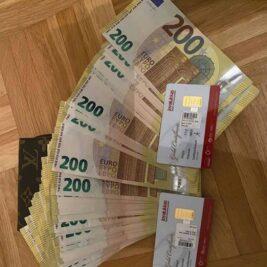 200Euros Fake notes