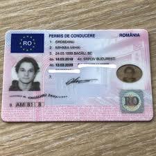 Romanian driver license