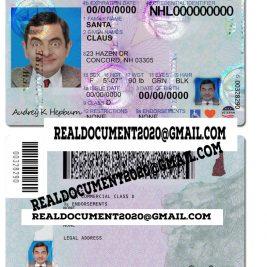 New Hampshire Driver License