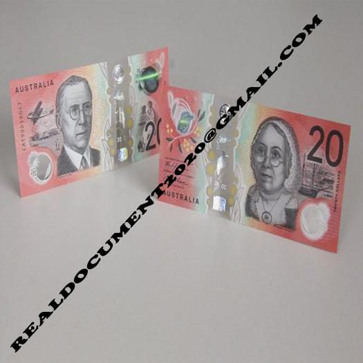 Buy Counterfeit AUD 20 Bills