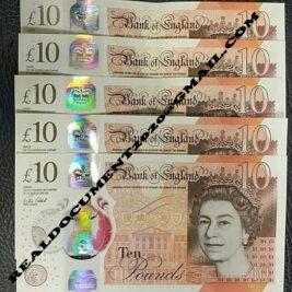 Buy Fake 10 British Pound