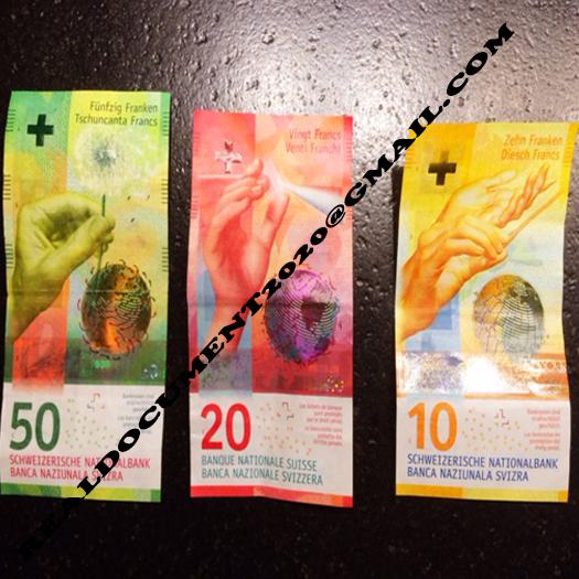 Buy Swiss Franc Bills