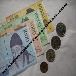 Buy South Korean Won